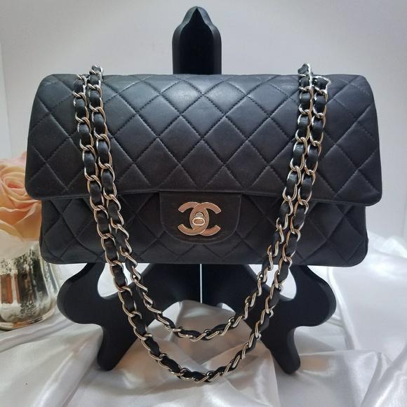 391aab2100b Chanel Handbags - Chanel Lambskin 2.55 Double Flap Bag